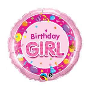 Idea regalo Palloncino a elio Birthday girl