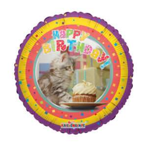 Idea regalo Palloncino a elio Happy Birthday (Gatto)