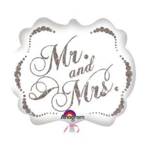 Idea regalo Palloncino a elio Mr. & Mrs. (Scintillii)