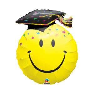 Idea regalo Palloncino a elio Smiley per Laurea