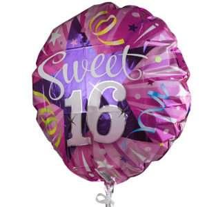 Idea regalo Palloncino a elio Sweet 16