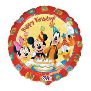 Idea regalo Palloncino a elio Happy Birthday (Mickey Mouse)