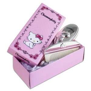 Idea regalo Kitty: Set per la cura dei capelli dei bambini, personalizzabile