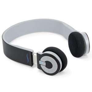Idea regalo hi-Edo – Cuffie bluetooth – nero/grigio