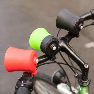 Idea regalo Horntones – clacson da bici – Nero (Move bitch, get out the way!)
