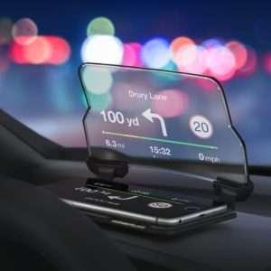 Idea regalo Display per Smartphone Hudway Glass head Up