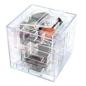 Idea regalo Scatola salvadanaio con labirinto