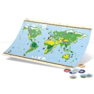 Idea regalo Mappa interattiva per bambini con figurine