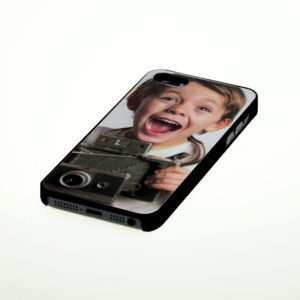 Idea regalo Cover per iPhone 5 & 5S personalizzabile con foto – Nera