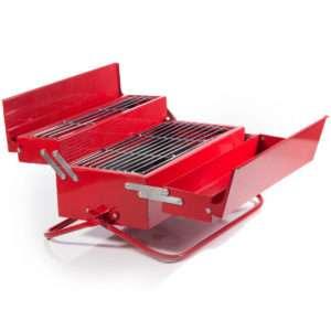 Idea regalo Griglia portatile Cassetta degli attrezzi