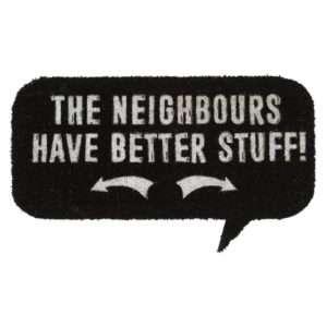 Idea regalo Zerbino in cocco – I vicini hanno roba migliore