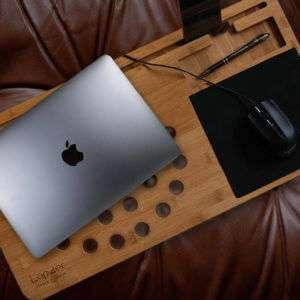 Idea regalo Supporto in legno per PC portatili – Lapzer