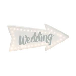 Idea regalo Insegna LED Wedding