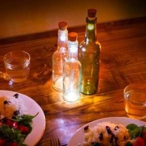 Idea regalo Tappo Luminoso Per Bottiglie – Multicolore