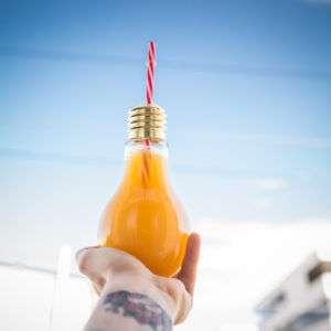 Idea regalo Bicchieri Lampadine  set da 4