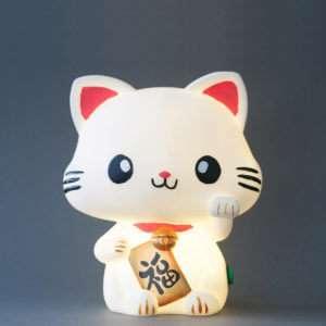 Idea regalo Lampada Maneki-Neko