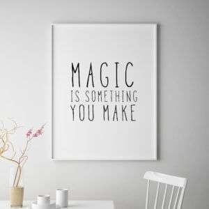 Regalo Magic Poster di MottosPrint
