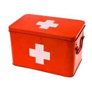 Idea regalo Scatola per medicinali Pronto Soccorso