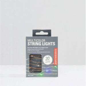 Idea regalo Stringa di luci di Natale
