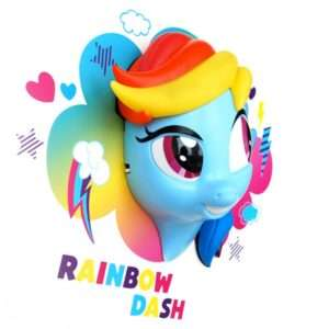 Regalo Lampada 3D Arcobaleno My Little Pony