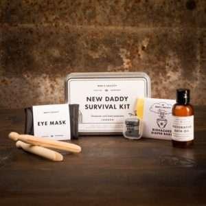 Idea regalo Kit di Sopravvivenza del Giovane Papà