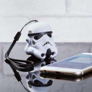 Idea regalo Mini altoparlante bluetooth a forma di Stormtrooper