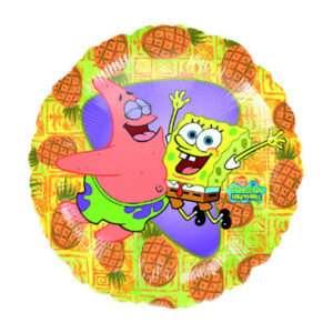 Idea regalo Palloncino a elio SpongeBob e Patrick