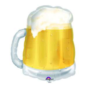 Idea regalo Palloncino ad elio Bicchiere di Birra