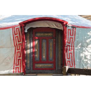 Idea regalo Party nella yurta: una notte e una cena per gruppi – Torino
