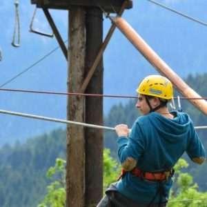Idea regalo Percorso avventura sulle sponde del fiume Noce – Trentino