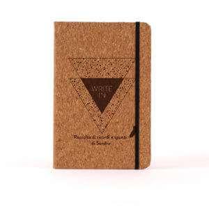 Regalo Notebook Personalizzabile in sughero – Write In
