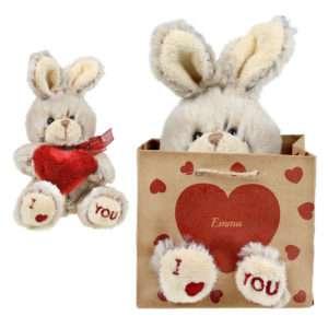 Idea regalo I Love You – Peluche personalizzato con nome
