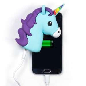 Idea regalo Powerbank a forma di dolce unicorno
