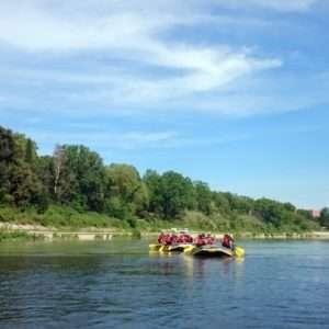 Idea regalo Rafting alla riserva naturale di Nazzano Tevere-Farfa – Roma