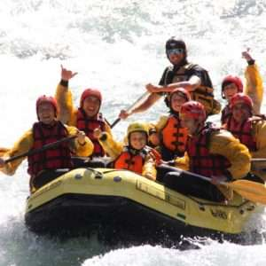 Idea regalo Rafting esplorando la Val di Sole – Trentino