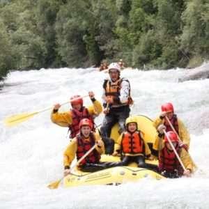 Idea regalo Rafting in Val di Sole, ideale per famiglie – Trentino