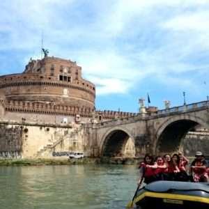 Idea regalo Rafting tra le meraviglie e la storia della Capitale – Roma