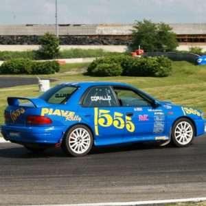 Idea regalo Rally a bordo della Subaru Impreza 555 – Latina