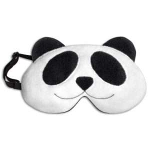 Idea regalo Mascherina per dormire – Il Panda Lien – Nero