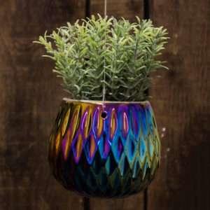 Idea regalo Vasi da appendere Oil Slick della collezione Lund