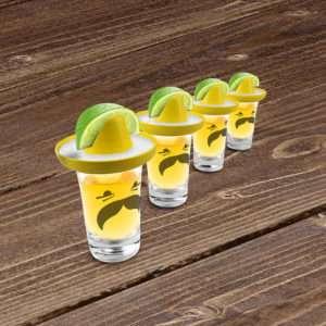 Idea regalo Bicchieri shot con sombrero