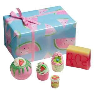 Idea regalo Set da bagno colorato Melon-Joy