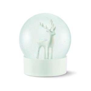 Idea regalo Sfera con neve renna