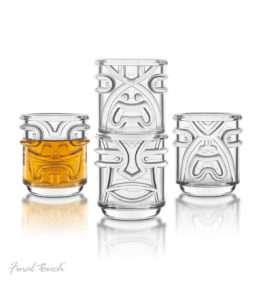 Idea regalo Set bicchieri Tiki