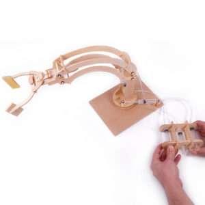Idea regalo Roboterarm selber bauen