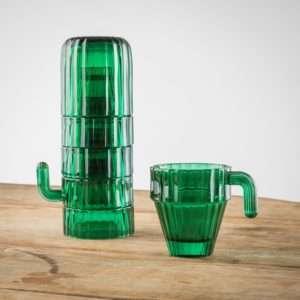 Regalo Bicchieri Saguaro Cactus  set da 6