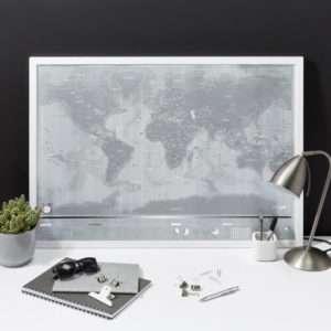 Idea regalo Mappa del mondo Luckie da grattare