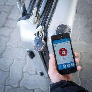 Regalo Lucchetto Smart Bluetooth per Bagagli