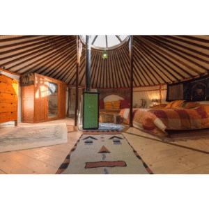 Idea regalo Soggiorno in yurta e massaggio per due – Torino