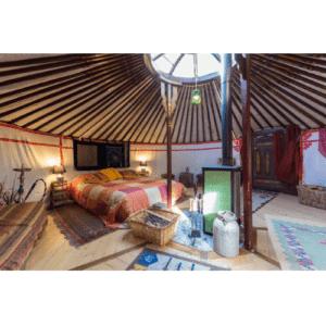 Idea regalo Soggiorno in yurta, massaggio e yoga per due – Torino